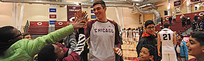 Uchicago Basketball Teams Engage With Nearly 1,000 South Side Students