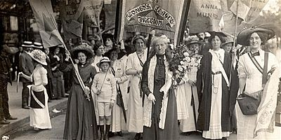 How Long Must We Wait for Liberty Suffragettes