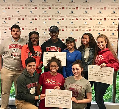 Scholars at College Signing Day