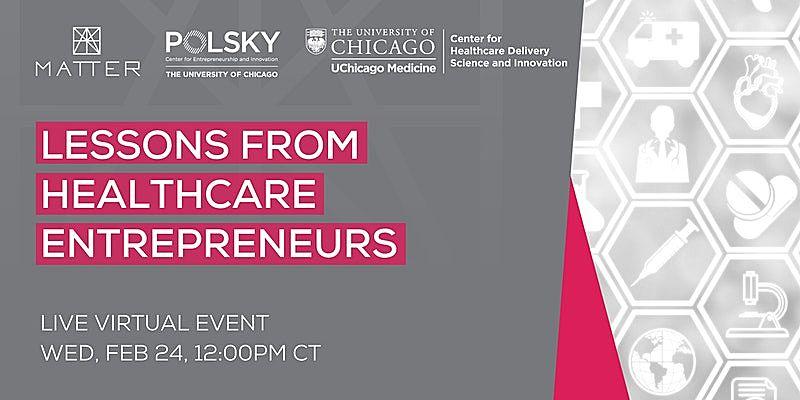 lessons from healthcare entrepreneurs