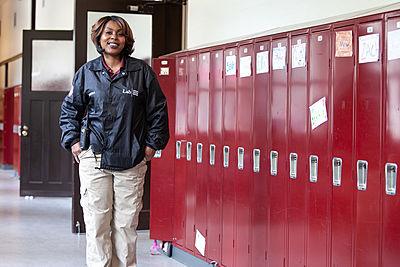 lanesha lab school crossing guard security