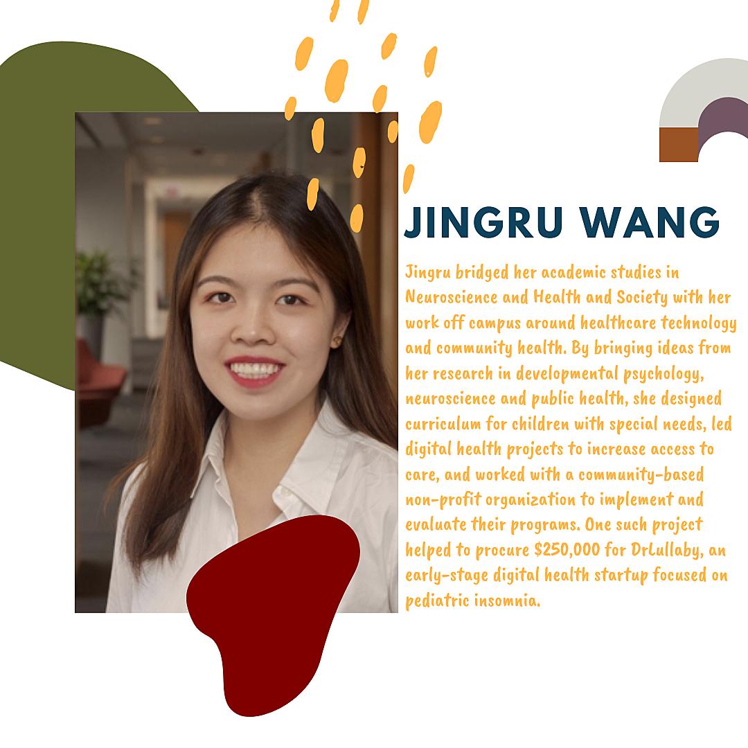 Rachel Wang, 2020 Perry Herst Prize Winner