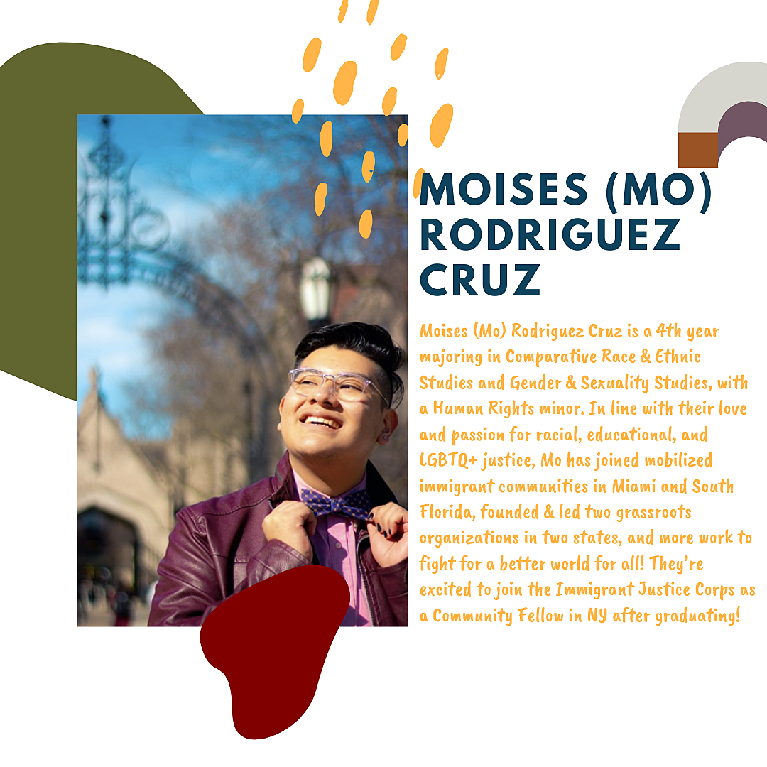 Mo Rodriguez Cruz, 2020 President's Volunteer Service Award Winner
