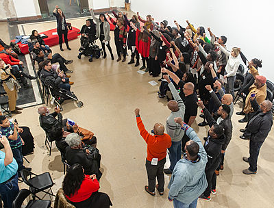 pop up choir civic leadership exchange crop