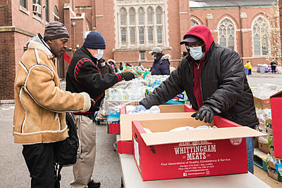 st. columbanus food distribution