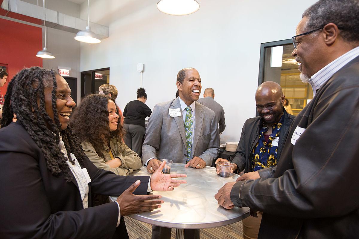 small business growth program reception