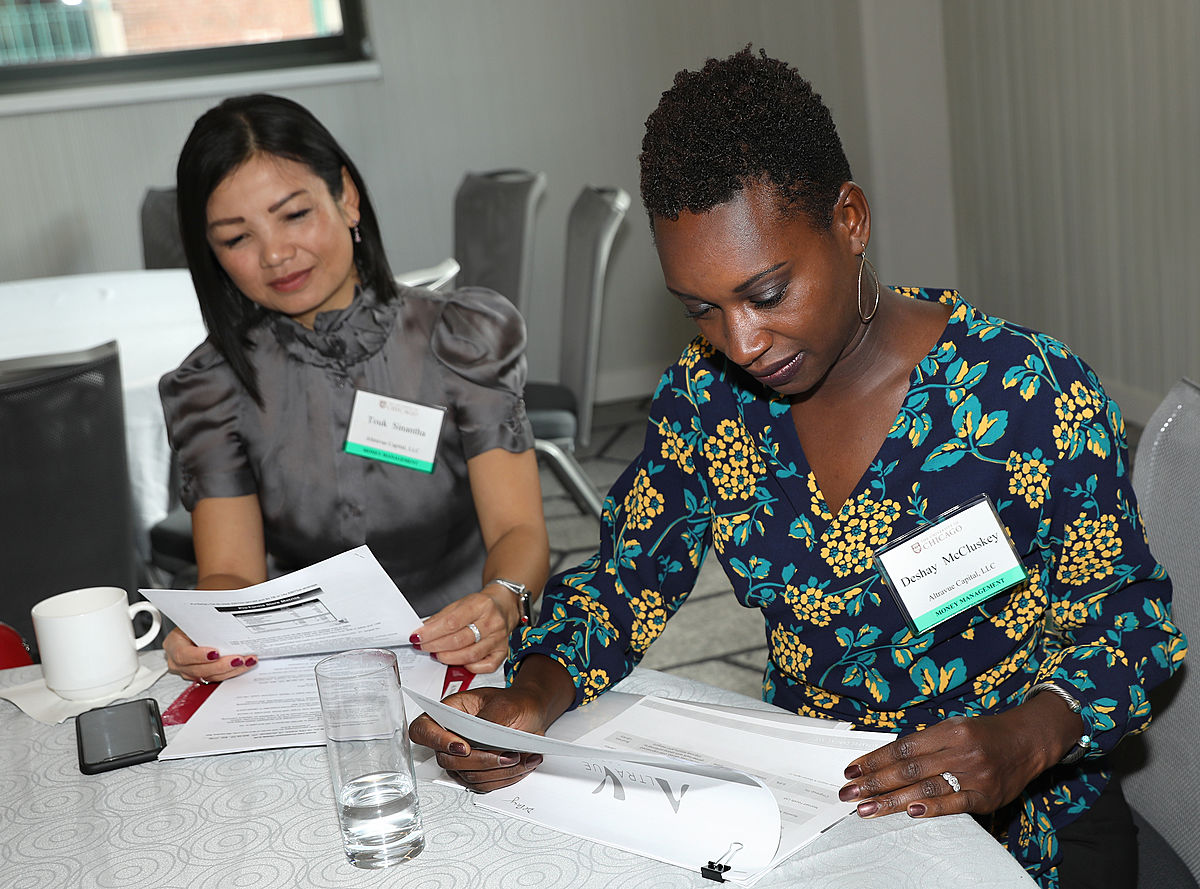 Women at Office of Business Diversity 2018 Professional Services Symposium